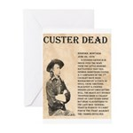 General Custer Greeting Cards (Pk of 20)