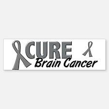 CURE Brain Cancer 1.2 Bumper Bumper Bumper Sticker