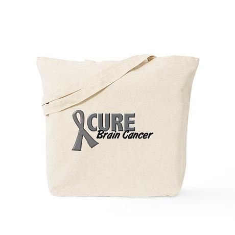 CURE Brain Cancer 1.2 Tote Bag