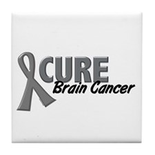 CURE Brain Cancer 1.2 Tile Coaster