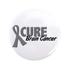 "CURE Brain Cancer 1.2 3.5"" Button (100 pack)"