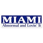 Miami Abnormal (bumper sticker)