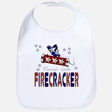Mommy's Little Firecracker Baby Infant Toddler Bib