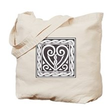 Celtic Heart Tote Bag