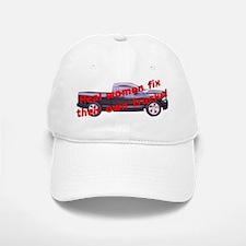 """Women & Trucks"" Baseball Baseball Cap"