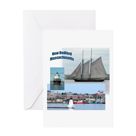 New Bedford Harbor Greeting Card