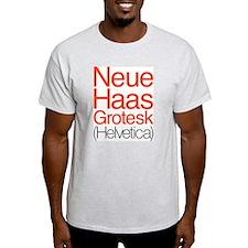 Neue Haas Grotesk T-Shirt