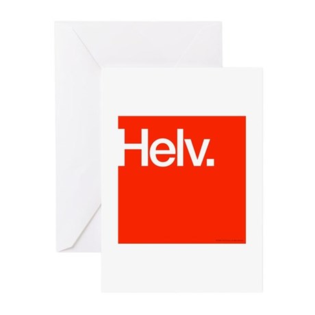 Helvetica Greeting Cards (Pk of 20)