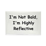 I'm Not Bald Rectangle Magnet (10 pack)