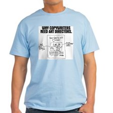 An Ad World, CW layout T-Shirt