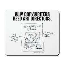 An Ad World, CW layout Mousepad