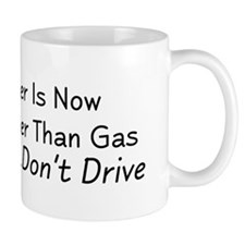 Beer is Now Cheaper Than Gas Mug