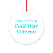 Cute Cold war service Ornament (Round)