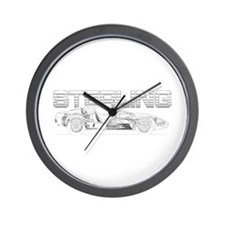 Kit car Wall Clock