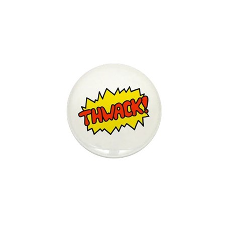 'Thwack!' Mini Button (10 pack)