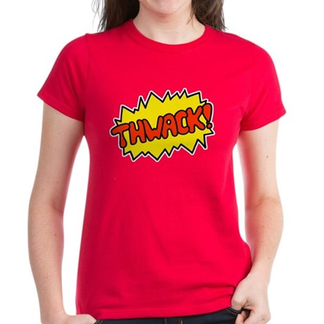 'Thwack!' Women's Dark T-Shirt