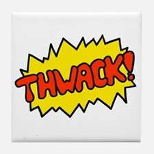 'Thwack!' Tile Coaster