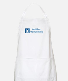 But Officer, I was Hypermiling! BBQ Apron
