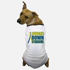 Advocate Down Syndrome Dog T-Shirt