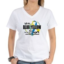 Blue & Yellow for Son Shirt