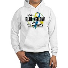 Blue & Yellow for Son Hoodie