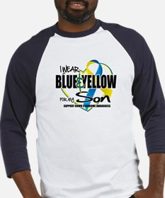 Blue & Yellow for Son Baseball Jersey