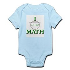 I Love Math Infant Creeper