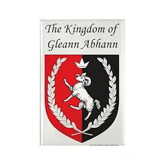 Kingdom of Gleann Abhann Rectangle Magnet (100 pac