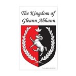 Kingdom of Gleann Abhann Rectangle Sticker
