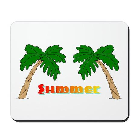 Summer Palm Trees Mousepad