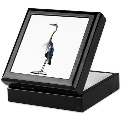 Great Blue Heron #2 Keepsake Box