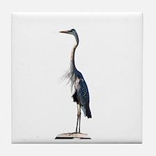 Great Blue Heron #2 Tile Coaster