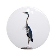 Great Blue Heron #2 Ornament (Round)