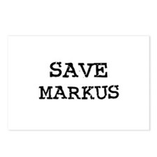 Save Markus Postcards (Package of 8)