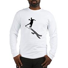 Handball Player Long Sleeve T-Shirt