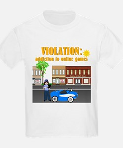 Addiction to Online Games T-Shirt