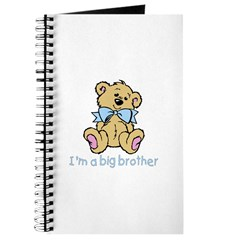 Baby Bear Big Brother Journal