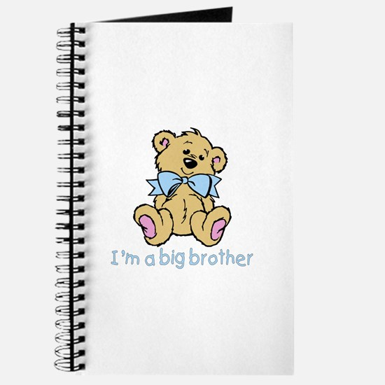 Baby Bear Big Brother Journal
