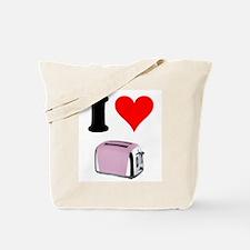 Cute Toasters Tote Bag