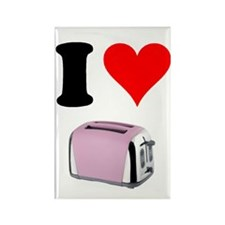 Cute Toaster Rectangle Magnet