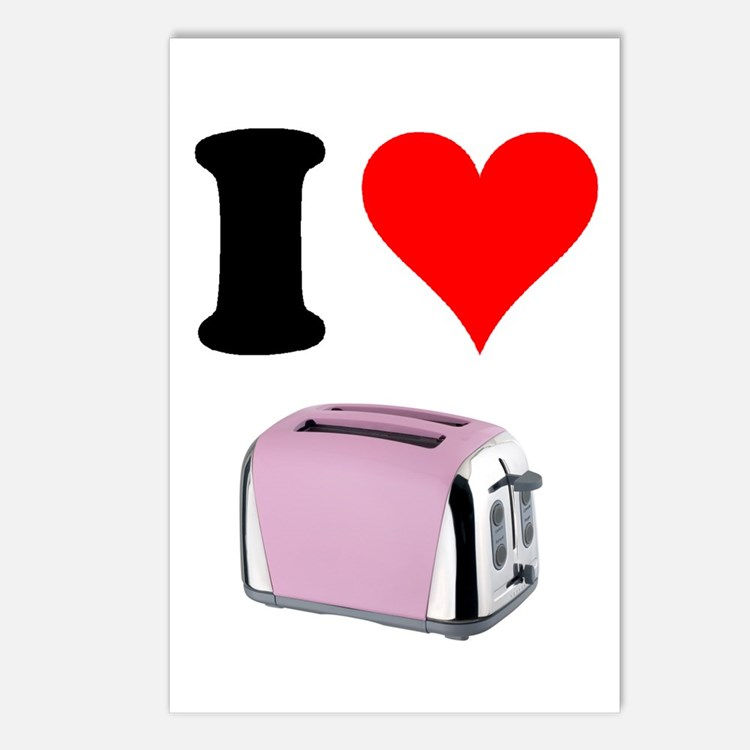 Cute Toaster Postcards (Package of 8)