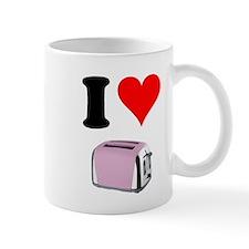I heart toaster 3 Mugs