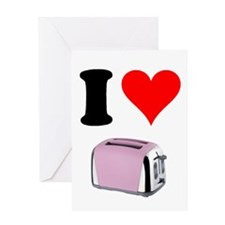 Funny The toast Greeting Card