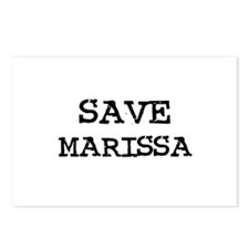 Save Marissa Postcards (Package of 8)