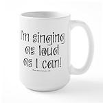 Fat Lady Sings Large Mug
