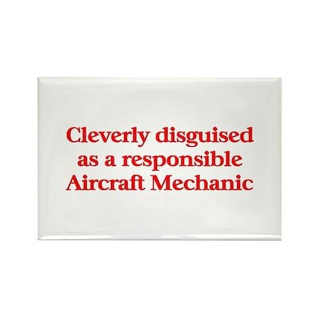 Aircraft Mechanic Rectangle Magnet (10 pack)