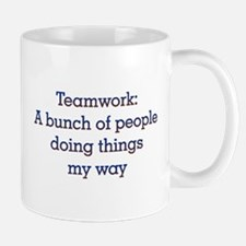 Teamwork Small Mugs