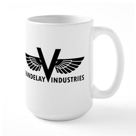 Retro Vandelay Industries Logo Large Mug