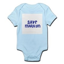 Save Marilyn Infant Creeper