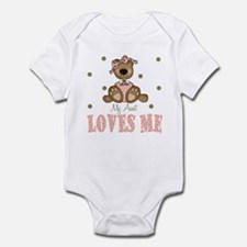 My Aunt Loves Me Bear Baby Infant Bodysuit